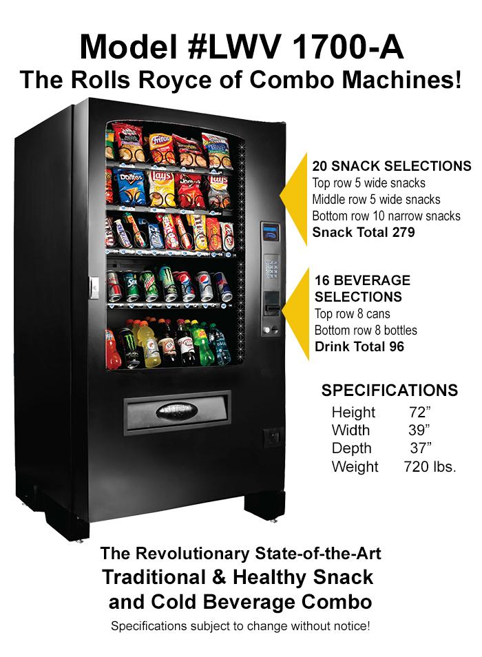 Vending Machine Businesses for sale - Lyons Wholesale Vending
